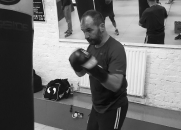 Boxing classes, Loughborough Junction, South London