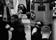 Boxing class, South London