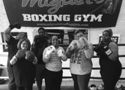 Beat obesity boxing club, south london